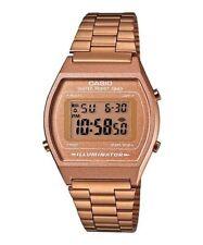 CASIO B640WC-5A Standard Digital Unisex Vintage Retro Stopwatch Bracelet Bronze