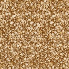 FAT QUARTER  FRESH WATER DESIGNS Pebbles Stones Rocks  Quilting Cotton   F/Q