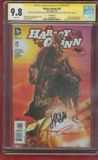 Harley Quinn 26 CGC 4X SS 9.8 Harris Variant Suicide Squad sequel 1st Red Tool