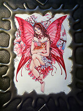 BRAND NEW! FAERIE FRIENDS & KITTY PADDED FAUX LEATHER SKETCHBOOK OUT OF PRINT!