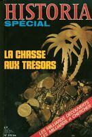 Livre revue Historia spécial la chasse aux trésors No 370 bis Book
