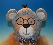2013 Baby Boy Koala Baby 3-6 Month Knit Plush Bear w Glasses Tie Hat Toy's R Us