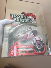 2007 Hasbro Transformers:  Exclusive variant Pink Deluxe Arcee AFA85/85/95 WOW