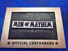 Sons of Anarchy Season 1-3 Men of Mayhem Official Contraband RP-01 Replica Patch