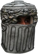 Trash Can Garbage Man Dumpster Diver Overhead Latex Costume Mask