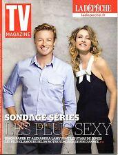 TV MAGAZINE 2015: SIMON BAKER +  ALEXANDRA LAMY