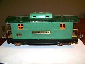 Lionel Prewar 817 Green Caboose