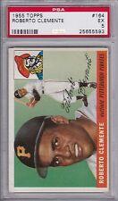 1955 Topps Baseball #  164 Roberto Clemente Rookie HOF PSA 5- High End