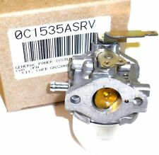 GENERAC 0C1535ASRV  OEM CARBURETOR FOR GN200 ENGINES PLUS GASKETS.