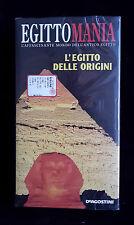 CS3> FILM VHS EGITTOMANIA L'EGITTO DELLE ORIGINI SIGILLATO