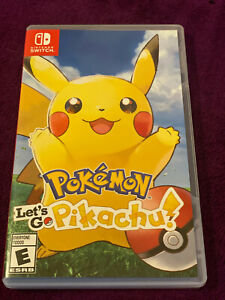 Pokemon Let's Go Pikachu! (Nintendo Switch) EXCELLENT. Plays Great. TESTED