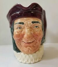 Royal Doulton Simon The Cellarer Toby Jug Large 6.5 Inches