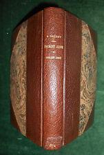 Alphonse DAUDET, Fromont jeune et Risler ainé 1874 Édition originale bien reliée