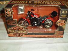 SWEET! Vintage 2003 Harley Davidson 2002 883R Sportster Motocycle Die-Cast Model