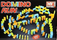 Ejecutar Domino Juego de la familia 120 Piezas Juego Adultos Niños Interior Al Aire Libre Diversión Familiar