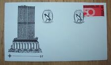 SOUTH AFRICA FDC 1974 50 YEARS OF BROADCASTING 4c STAMP CANCELLED UN-USED
