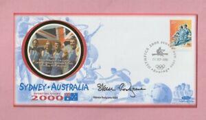 Australia - Sydney, 2000 Olympic Games Autographed Stamp cover, Steve Redgrave