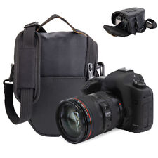 1x Portable Black Triangle Digital Lens Shoulder Carry Case Bag for DSLR SLR