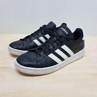 ADIDAS Originals Mens Size US 9 / UK 8.5 Black Grand Court Sneakers Shoes