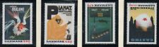 Denmark Sc 947-950 1991 Museum Posters  stamp set mint NH