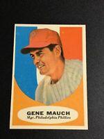 F62793  1961 Topps #219 Gene Mauch MG PHILLIES
