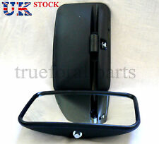 Set of 2x Universal Side Wing E marked Mirror fit Truck Bus Lorry size 30x18cm