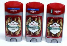 3 Old Spice Wild Collection BEARGLOVE Deodorant 3.0 oz FOR MEN & BOYS