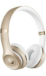 Beats by Dr. Dre Beats Solo3 Wireless On-Ear Bluetooth Headphones (Gold)
