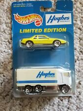 Hot Wheels Hughs Limited Edition Hughs Truck And Neon Pontiac Fiero New in Pack