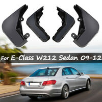 XUKEY Mud Flaps Mudguards For Mercedes-Benz W212 E-Class 09-12 Splash Guards