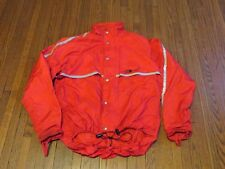 VTG The North Face Gore-Tex Velo Red 3M Reflect Bicycle Windbreaker Jacket sz M