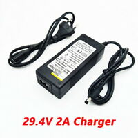 29.4V 2A 7S Electric Bike Lithium Battery Charger for 24V 2A Lithium Battery