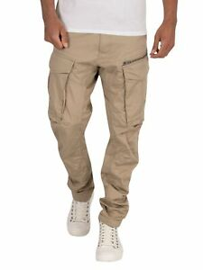 G-Star Men's Rovic Zip 3D Straight Tapered Cargos, Brown