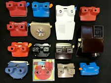 Viewmaster Collection (14) Vintage 3D Viewers, Stereoscope GAF View-master lot