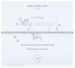 Joma Jewellery Bracelet- Silly Sausage