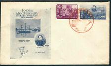 Ryukyus Stamps 27-28 Perry Fdc Okinawa Cachet 26May1953 Scv $15.00