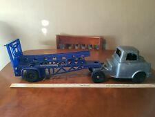 Ideal Moon Rocket Launcher Mobile Carrier Semi 1960s Vintage Plastic Toy