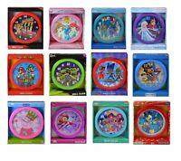 Disney Cars Princess Frozen Paw Patrol Super Mario Peppa Mickey Round wall clock