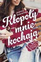 Joanna Szaranska - Klopoty mnie kochaja. .... [polish book, polen buch]