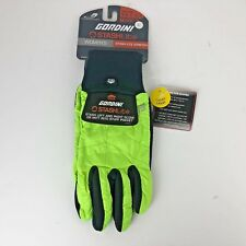 Gordini Womens Stash Lite Stretch Gloves Bright Lime Green Size Large NEW