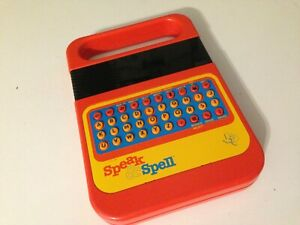 Texas Instruments Speak & Spell Learning Game Vintage 1978 USA MADE TESTED WORKS