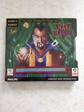 Vintage computer Philips CD-i game Max Magic RARE 1990's!