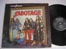 Black Sabbath – Sabotage Label: NEMS – 9119 001,LP, Album, 1st UK