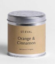 """St Eval """"Orange & Cinnamon"""" Scented Candle in a Tin"""