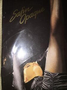 Wolford Satin Opaque Tights Size: Small Color: Alabaster 11277 -11