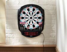 Fat Cat RIGEL Electronic Soft Tip Dartboard Set 6 Darts LCD DISPLAY 13""