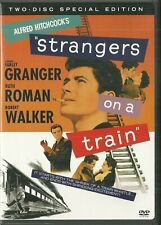 Used 2 Dvd Set - Strangers On A Train Alfred Hitchcock - 2 versions of the film