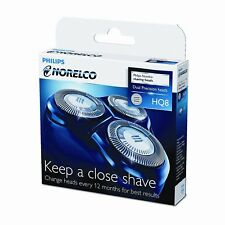 Brand New Philips Norelco HQ8 Dual Precision Replacement Shaving Heads  -Coff