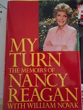 1989 Signed First Edition MY TURN The Memoirs of First Lady Nancy Reagan