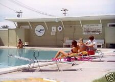 "5"" by 7"" PHOTO REPRINT - PSA STEWARDESS TRAINING CENTER POOL"